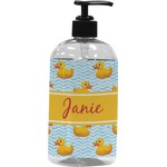 Rubber Duckie Plastic Soap / Lotion Dispenser (Personalized)