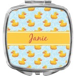 Rubber Duckie Compact Makeup Mirror (Personalized)