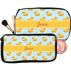 Rubber Duckie Makeup / Cosmetic Bag (Personalized)