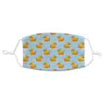 Rubber Duckie Adult Cloth Face Masks (Available in 2 Sizes) (Personalized)