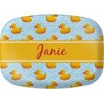 Rubber Duckie Melamine Platter (Personalized)