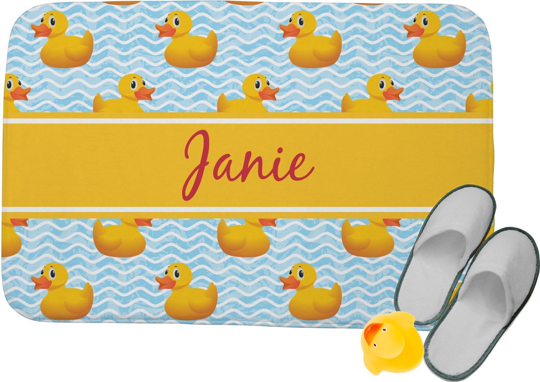 Rubber Duckie Memory Foam Bath Mat
