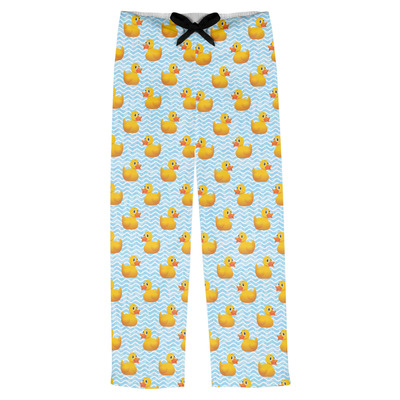 Rubber Duckie Mens Pajama Pants (Personalized)