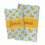 Rubber Duckie Microfiber Golf Towel (Personalized)