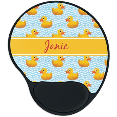 Rubber Duckie Mouse Pad with Wrist Support