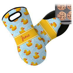 Rubber Duckie Neoprene Oven Mitt (Personalized)