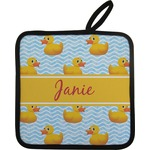 Rubber Duckie Pot Holder (Personalized)