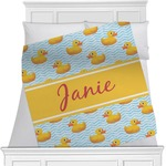 Rubber Duckie Minky Blanket (Personalized)