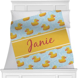 Rubber Duckie Blanket (Personalized)