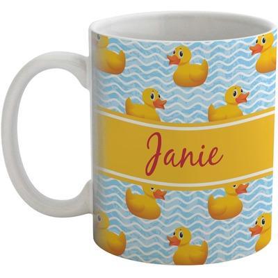 Rubber Duckie Coffee Mug (Personalized)