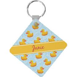 Rubber Duckie Diamond Key Chain (Personalized)