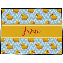 Rubber Duckie Door Mat (Personalized)