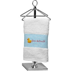 Rubber Duckie Finger Tip Towel (Personalized)