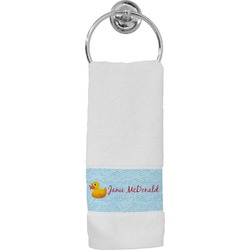 Rubber Duckie Hand Towel (Personalized)