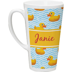 Rubber Duckie Latte Mug (Personalized)