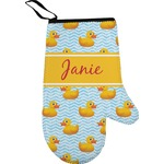 Rubber Duckie Right Oven Mitt (Personalized)