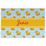 Rubber Duckie Placemat (Laminated) (Personalized)