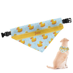 Rubber Duckie Dog Bandana - Large (Personalized)
