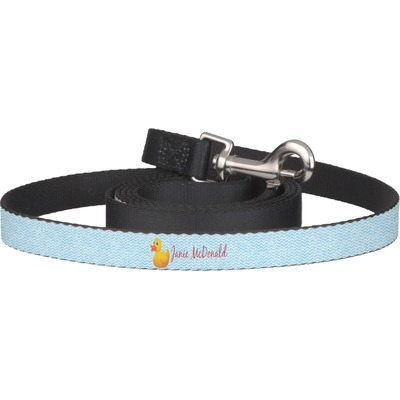 Rubber Duckie Dog Leash (Personalized)