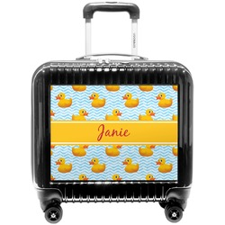 Rubber Duckie Pilot / Flight Suitcase (Personalized)
