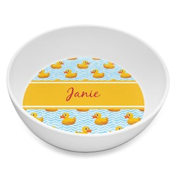Rubber Duckie Melamine Bowl 8oz (Personalized)