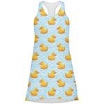 Rubber Duckie Racerback Dress (Personalized)