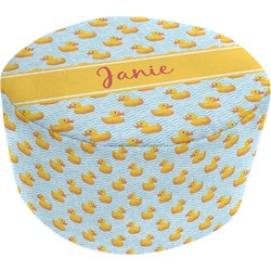 Rubber Duckie Round Pouf Ottoman (Personalized)