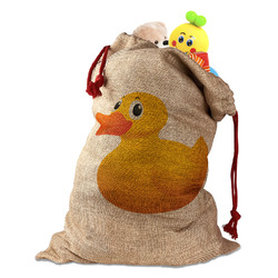 Rubber Duckie Santa Sack (Personalized)