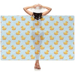 Rubber Duckie Sheer Sarong (Personalized)