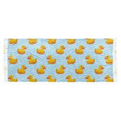 Rubber Duckie Faux Pashmina Scarf (Personalized)
