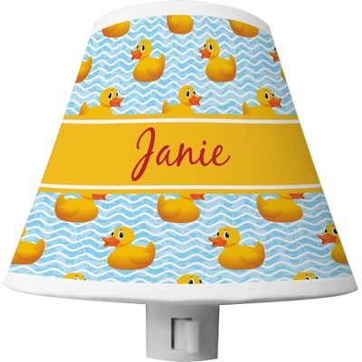 Rubber Duckie Shade Night Light (Personalized)