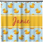 Rubber Duckie Shower Curtain (Personalized)