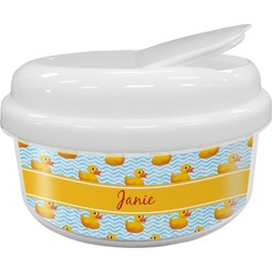 Rubber Duckie Snack Container (Personalized)