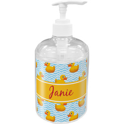 Rubber Duckie Soap / Lotion Dispenser (Personalized)