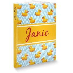 Rubber Duckie Softbound Notebook (Personalized)