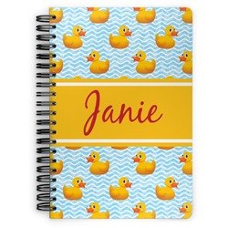 Rubber Duckie Spiral Notebook (Personalized)
