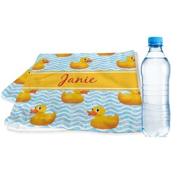 Rubber Duckie Sports Towel (Personalized)