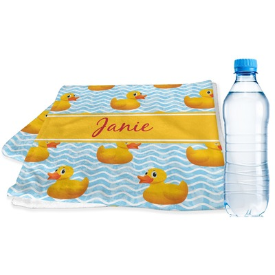 Rubber Duckie Sports & Fitness Towel (Personalized)
