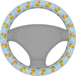 Rubber Duckie Steering Wheel Cover (Personalized)
