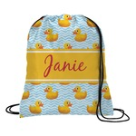 Rubber Duckie Drawstring Backpack (Personalized)