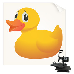 Rubber Duckie Sublimation Transfer (Personalized)