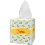 Rubber Duckie Tissue Box Cover (Personalized)
