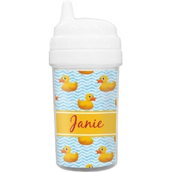 Rubber Duckie Toddler Sippy Cup (Personalized)