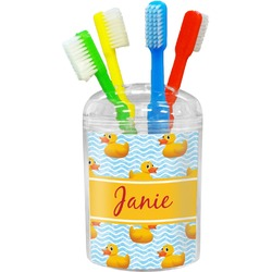 Rubber Duckie Toothbrush Holder (Personalized)