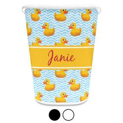 Rubber Duckie Waste Basket (Personalized)