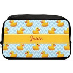 Rubber Duckie Toiletry Bag / Dopp Kit (Personalized)