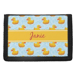 Rubber Duckie Trifold Wallet (Personalized)