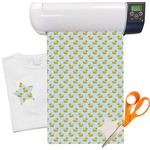 "Rubber Duckie Heat Transfer Vinyl Sheet (12""x18"")"
