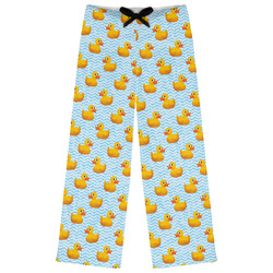 Rubber Duckie Womens Pajama Pants (Personalized)
