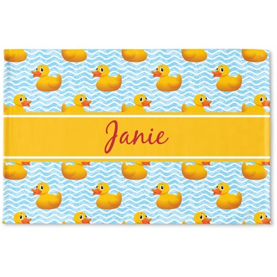 Rubber Duckie Woven Mat (Personalized)